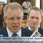 LMAs National Mosque Open Day. Everyone welcome. 4,000 visitors so far... Morrison from Lakemba Mosque. #auspol http://t.co/xqdbnsJwkp