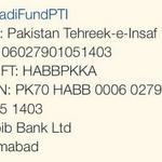 RT @CMPervaiz: #FundNayaPakistan #FundNayaPakistan for One Nation One Kaptaan One Movement One Destination Naya Pakistan !! http://t.co/KYOF1myeVB