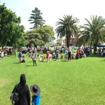 And now hundreds of Wollongong people gather to sing, dance & eat for #walktogether http://t.co/7FHEnR6oNP