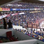Que emocionante fue ver ganar a nuestros Gallos @Club_Queretaro al América y saludar a tantos amigos en el estadio http://t.co/1YEmeo5uVP