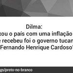 RT @OGloboPolitica: #Pretonobranco checa frase de @Dilmabr sobre inflação. #DebatenaGlobo http://t.co/0bnLzC6pPB http://t.co/4AlWzO3jbu