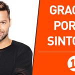RT @canal13: ¡Muchas gracias a todos por la sintonía y más de 10 mil comentarios hoy en el concierto de Ricky Martin! http://t.co/g2B74AJYTz