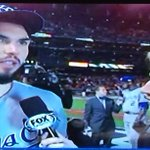 RT @jeff_rosen88: Birthday Boy Eric Hosmer and Erin Andrews postgame. The #Royals are halfway to a title. http://t.co/gm2pmNSYax