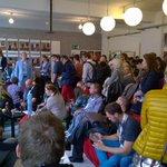"""Die @zeniscalm sagt: """"Ihr seid das BarCamp!"""" #ccb14 http://t.co/HP3fEes3Cq"""