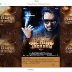 Thank you @ajaydevgn . Wish you Happy Diwali as well. Best of luck for #ActionJackson http://t.co/X9rACsBvyN