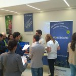 #Voiceboard team is recruiting actively at the #luyscareerfair in Dilijan, Armenia today. http://t.co/KtbBz5lYct