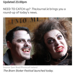 RT @bramstokerdub: Our vampires @Vamp_Carmilla and @Slasher_Vamp featured in @thejournal_ie daily roundup! #summonthevamp http://t.co/TXznPhMwo3