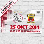 Om 18:45 uur gaan de stadionkassa's voor #Ajax - Go Ahead Eagles open! Op 1 ClubCard kun je 4 tickets kopen. #ajagae http://t.co/gdNlmWIyya
