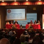 """RT @JovenesHHCC: Comienza la ponencia """"Hermandades y Cofradías, entre el rito y la fe"""". Toma la palabra Dña Milagros Ciudad #JOHC2014 http://t.co/SMAwgIfgSG"""