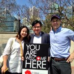 RT @timsout: Great to walk with @JasonClareMP with the banner for @welcome2aussie this afternoon - here post-walk #WalkTogether http://t.co/0oivow16y3