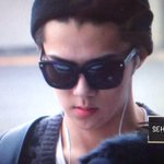 [Preview]141025 Sehun @ Beijing Airport (Cr:Sehunter) 2 http://t.co/CAn89Wzfo4
