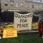 #walktogether Couple of banners from participants in Hobart walk. Sense of peace and common purpose. http://t.co/m3yfFjPiJV