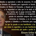 RT @SuramericaJusta: Sobre Terrorista Romaña en Cuba. Es humillación a las FFAA #ColombiaIndignada @omarbula @rvalderrama10 @jcpastrana http://t.co/9GgDEISigU