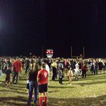 RT @RedMtnFootball: Fans you got your moneys worth! The scene from on field post-win #GoLions http://t.co/aUeOydYqgF