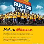 RT @mtnug: #MTNMarathon2014 is on come 23/11/2014. #RunforWater. Keep here for all the details. @newvisionwire @hipipo http://t.co/i0mcqloE3S