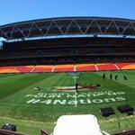 RT @England_RL: The field of battle. Awaiting our 17 gladiators, representing our nation. #wallofwhite #4nations http://t.co/15yDoPamqJ