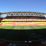 Welcome to @suncorpstadium in @visitbrisbane! The #4Nations kick-off with @England_RL v @RLSamoa in about an hour. http://t.co/XchgzA5LY8