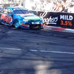 RT @markwa1ker: The track at Serisier Ave is breaking up supreme #V8SC #GC600 http://t.co/ieae4lGGoF