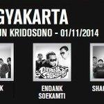 Besok di Kridosono #Jogja ! Merapat pat pat! >> http://t.co/uNafa5CLoA