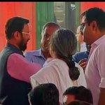I&B Minister Prakash Javadekar at BJP headquarters for #PMMediaMeet http://t.co/0WIcY6ZGu4
