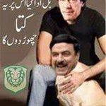 RT @JunaidQaiser: Imran Khan with his new Sheru. #ShameOnSheedaTalli http://t.co/0vrbxDBk6m