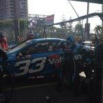 RT @GRMotorsport: Alex pits @smclaughlin93 back in the car #V8SC #VolvoS60 http://t.co/aQ1DCMpXMv