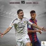 RT @alertux: Recuerden que hoy a las 10:00 am (Hora ES) se juega el clásico Real Madrid - Barcelona ¿Cuál es tu pronóstico? http://t.co/RHTOVE01RR