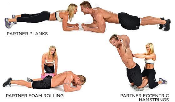 El fin de semana es perfecto para entrenar con tu pareja: aquí tienes 3 ejercicios diferentes http://t.co/QukAx8lFCs