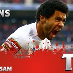 33min: TRY! @kalwatkins91 scores for @England_RL after quick hands across the line. #EngvSam #WallofWhite http://t.co/2SAI7W8zrm