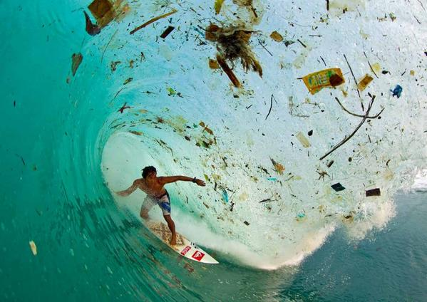 Where your plastic junk ends up (real photo, Java) http://t.co/fkyHDxTFqV
