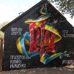 RT @melanhaton: Граффити памяти героя погибшего в АТО из Черткова (Тернопольская обл.), Роману Ильяшенко. http://t.co/RVg8Mz3J2D