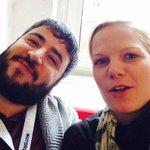Morgen! Wir @m106 und @schnieselwiesel vom #CMBln freuen uns auf die alten Hasen und auch die neuen Gesichter #ccb14 http://t.co/0arMBYaPck
