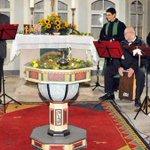"""Sonntag, 26.10.2014 17:00 Uhr Herbstkonzert der Haarhäuser Kirchenband """"Musikfriends"""" http://t.co/KqD5Abhq9b http://t.co/j5Hsi9mGgl"""