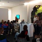 Cerrando #paliquealcubo GRACIAS por esta experiencia @esthergaton @galeriajaviers #contemporaryart #Valladolid http://t.co/shJwswWW5A