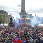 Thank you to all the fans who have come out and supported us today at Trafalgar Square! #RiseUp @Atlanta_Falcons http://t.co/ZhZ6jIEG3I