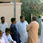 Visited GulistanEjohar block14 (N) along with area #MQM Workers #NA253 #MohajirProtest #Karachi #Pakistan http://t.co/lp0Jtkv5HE