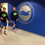 RT @OfficialBHAFC: #BHAFC players head out for the warm up ahead #BHAvRUFC @KickItOut t-shirts. #SeasonOfAction http://t.co/1Ki5Sv45VH