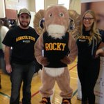 Rockys here too! Find him (and @dalagriculture) at the Academic Fair in Studley Gym! #DalOpenHouse http://t.co/MJPGBhONCE