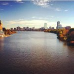 The sun is out! Beautiful morning on the Charles! #Boston #Fall http://t.co/sim6wKFAXW