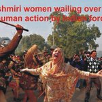 RT @sabaagha300: #KashmirMillionMarch For innocent women being raped by Indian army http://t.co/TfsSVdSokz