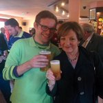 It isnt often you get to buy Delia Smith a half at a Sheffield pub. #otbc #canarycall http://t.co/W5mQTaSUbu