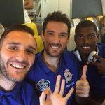 RT @LP10oficial: Acabamos de aterrizar en Barcelona. Mañana nos espera el @RCDEspanyol. A seguir la racha @RCDeportivo! http://t.co/XxtJGUNvMG