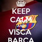 RT @Aaahhhsi: hoy hay clásico!!!! Hoy ganamos @FCBarcelona_es !!! VISCA BARÇA!!!! http://t.co/GP3PqcDQj7