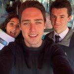 #squareverb Presenter selfie @UEATV #ueaopenday http://t.co/73HkL81Mq5
