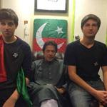 RT @ImranKhanPTI: Last week in Azadi container with my boys Qasim & Sulaiman. http://t.co/9wdBcTHC3X