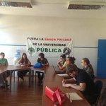 Comenzamos con el V encuentro de estudiantes. En #Cartagena en la Federación de asociaciones de vecinos. http://t.co/ttTyeRpFBm