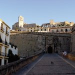 This is the gateway to the walled city of Dalt Vila better known. Do you know its name? #ibiza http://t.co/KrGuyRnZE2