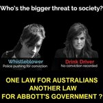 RT @MarkRDuckett: One example of the grand hypocrisy #auspol http://t.co/czAMiPxT2i