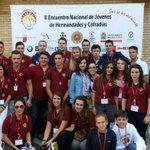 RT @Hdad_SanBenito: @JuventudSBenito inicia este sábado en el II Encuentro Nacional de Jóvenes de HH y CC de Cartagena. http://t.co/wYsn7oumDn