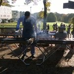 RT @CateT1976: @uniofeastanglia Great weather for a bbq at #ueaopenday. One of the best things about Norfolk is the weather. http://t.co/lCWmVIrpAT